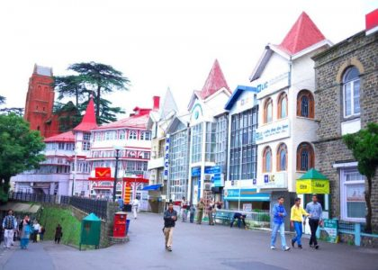 Shimla mall road