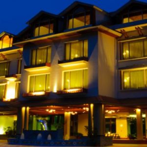 front face pic of citrus manali resort