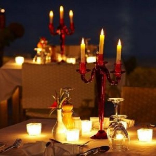 Manali Candle light dinner