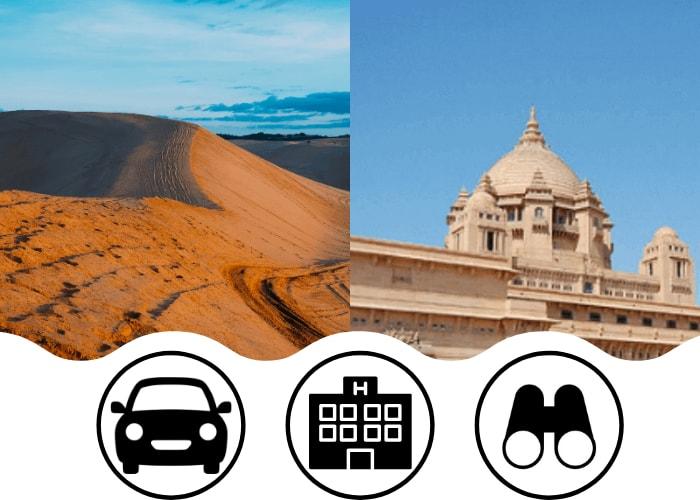 how to reach jaisalmer from delhi