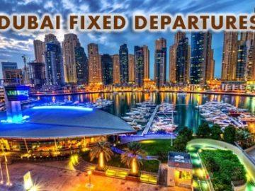 dubai fixed departure