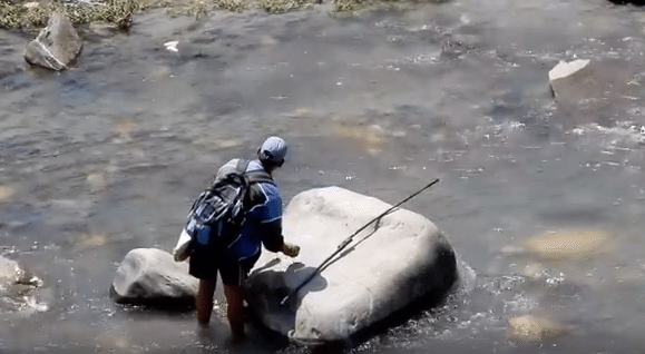 Day 01 : Fishing  activity in Manali