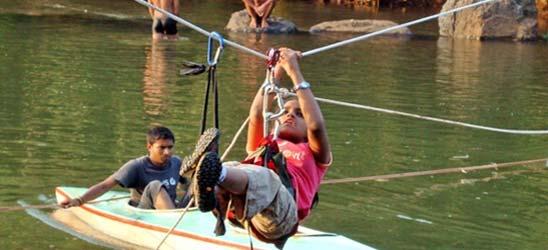 River crossing Activity
