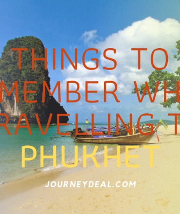 Things to Remember for Phuket Tour