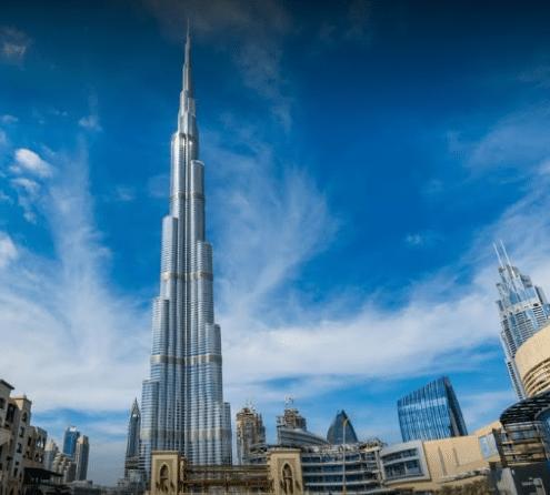 Day 4 : Visit 124th Floor Burj Khalifa