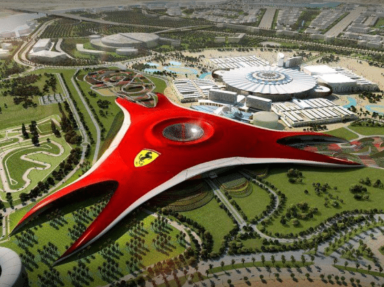 Day 4 : Full day Abu Dhabi City Tour with Ferrari World