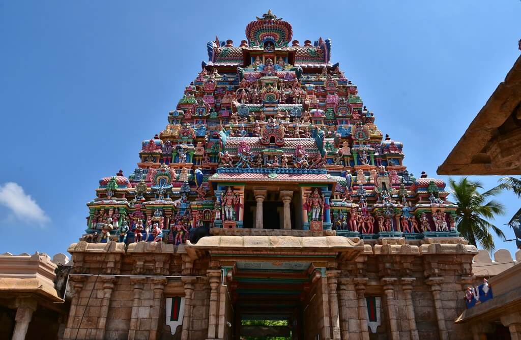 Day 07 : Trichy sightseeing - Madurai